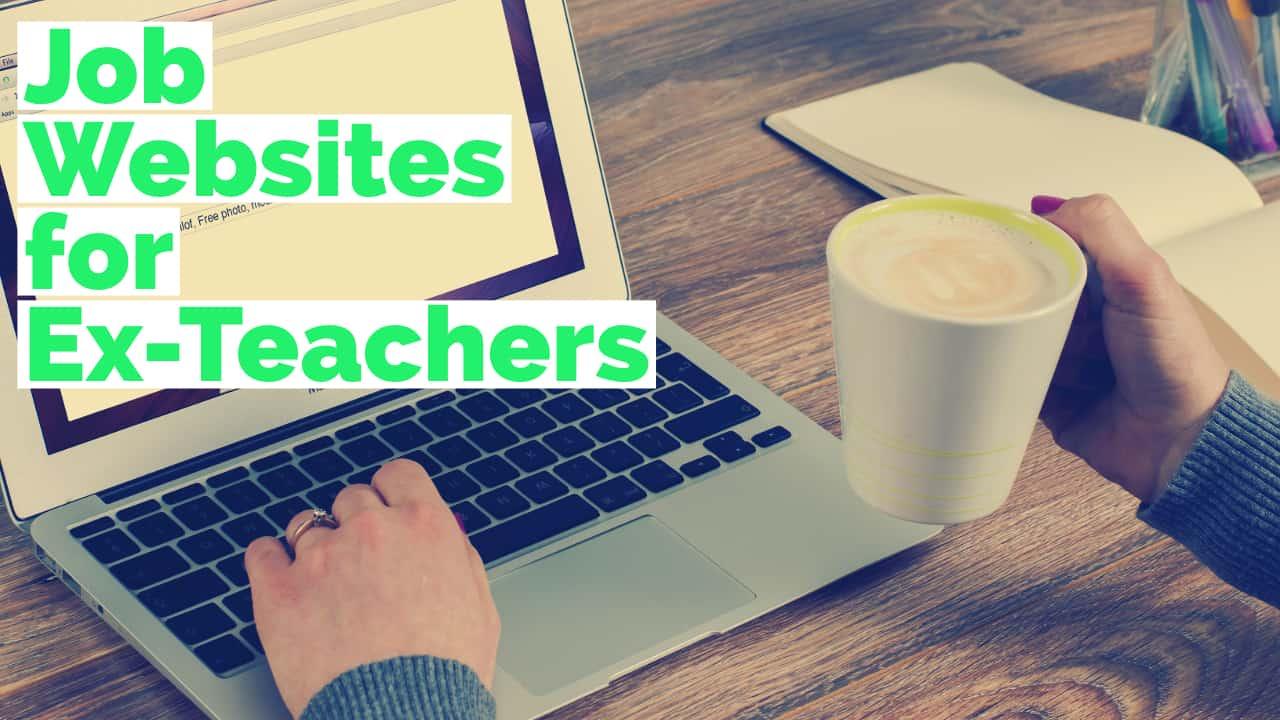 jobs for ex-teachers